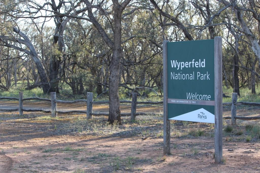 Entrance Wyperfeld NP